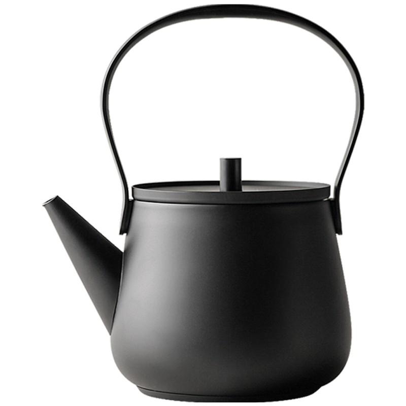 【九土JOTO】日式簡約小坐觀壺燒水壺,煮茶壺,電陶爐,觀壺家用燒水壺,電茶爐,泡茶專用,不銹鋼,燒水煮茶器