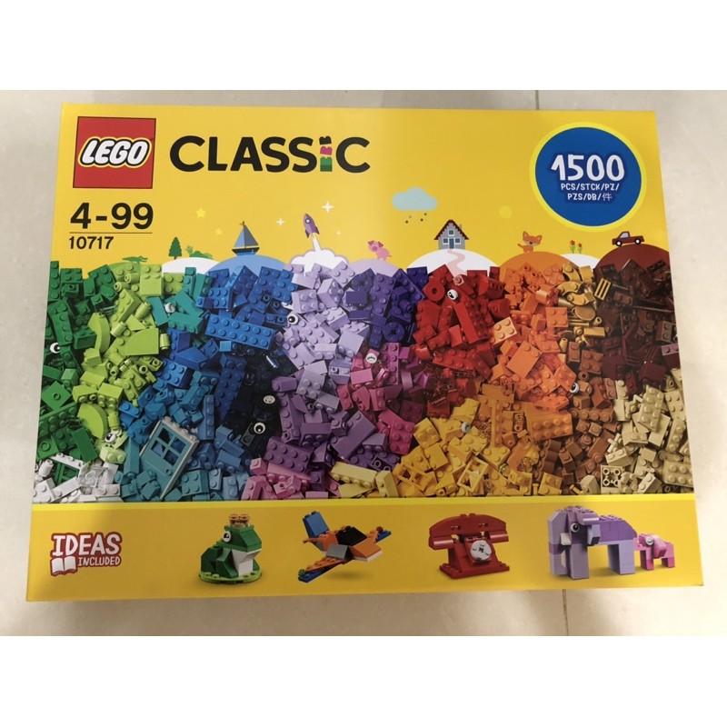 [好市多]最新上架,樂高LEGO #10717  1500片盒裝