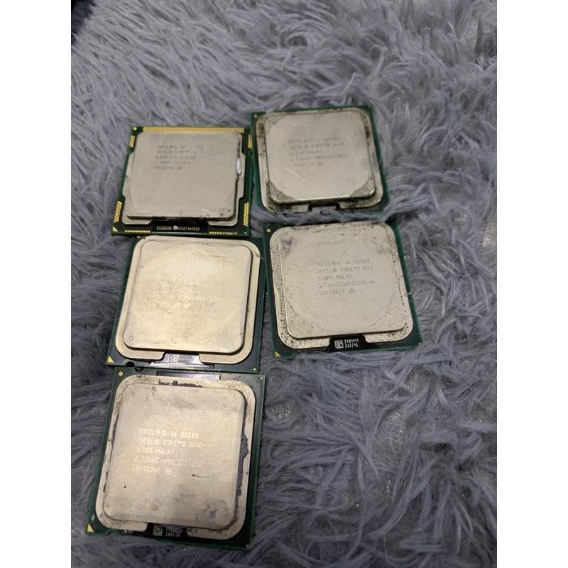 Intel CPU I3-530 Q6600 Q8200 Q8300 E8500