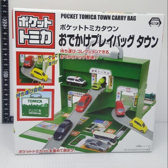 《新品》Tomica Pocket Tomica Town 扭蛋車 手提箱 全新