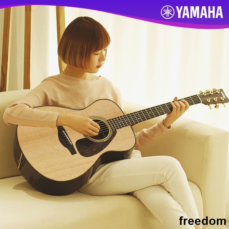 freedom ■YAMAHA雅馬哈f310民謠木吉他初學者入門學生男女41寸f600.F370
