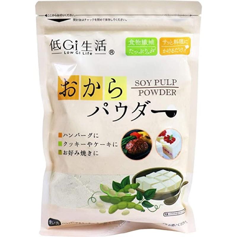 🍎現貨🍎日本DeJAPAN 豆渣粉 200g 低GI 100%日本產大豆 無添加 低GI 健康 養生
