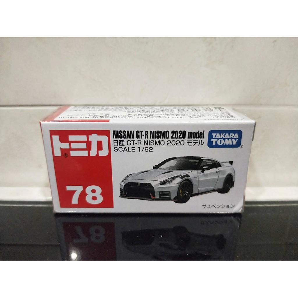全新 絕版 新車貼 Tomica 78 #78 GT-R NISSAN NISMO 東京奧運 2020 MODEL 白