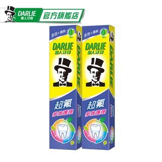 【黑人】超氟多效護理牙膏180g2入(口氣清新/ 防蛀/ 天然薄荷精華) 臺北市