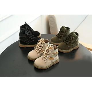 帝安諾-請先聊聊 TEFEITU BABY BOOTS 麂皮學步鞋(黑.卡其.軍綠)PALLADIUM 軍靴馬丁靴 苗栗縣