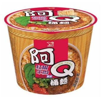 阿Q桶麵(紅椒牛肉)一箱/12碗