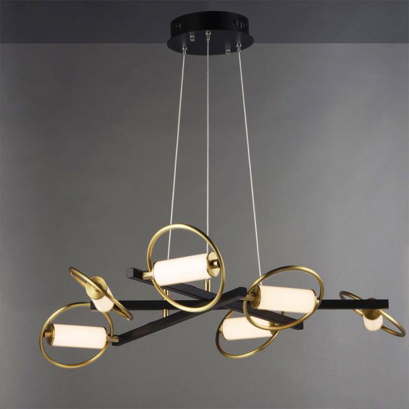 活动价新款異形圓環吊燈后現代輕奢客廳臥室餐廳樣板房臥室書房吊燈