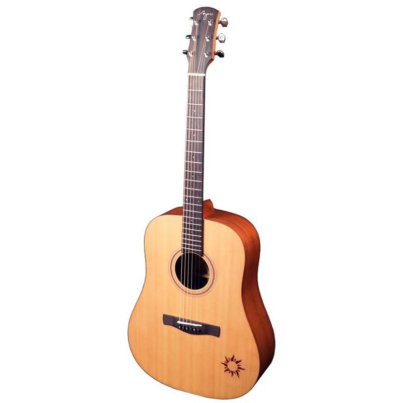 【諾亞樂器】全新 免運 Ayers DS-NSW 雲杉木面板 桃花心木側背板 全單板木吉他 送超值配件