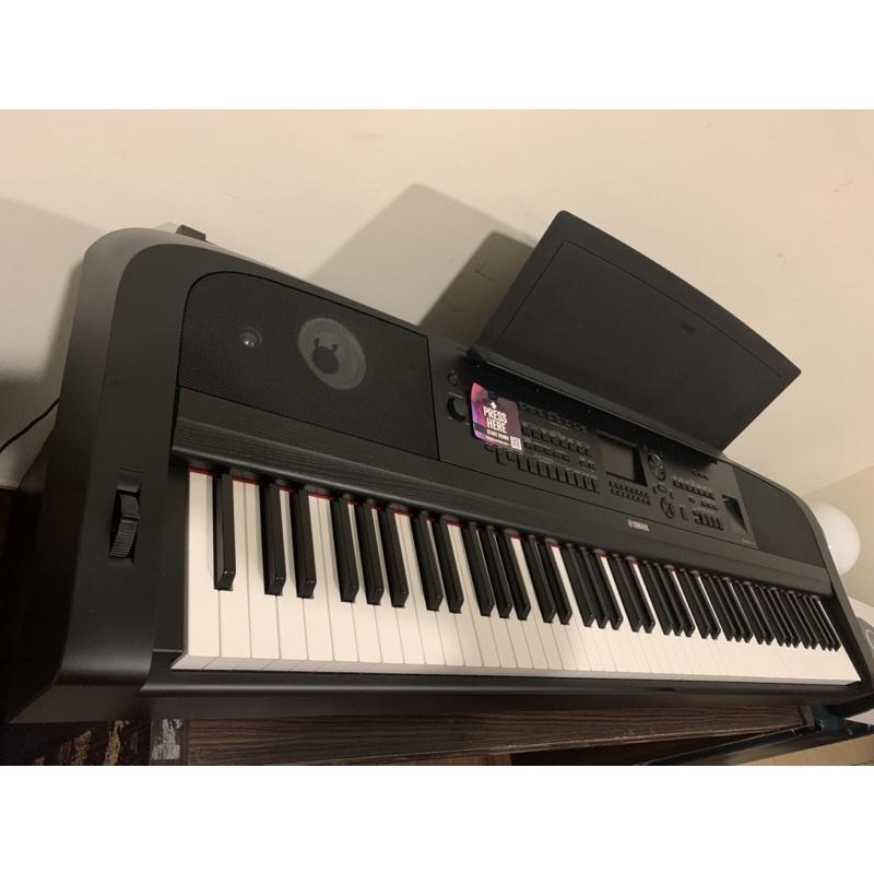 新款 Yamaha DGX670 附原廠配件+原廠琴袋