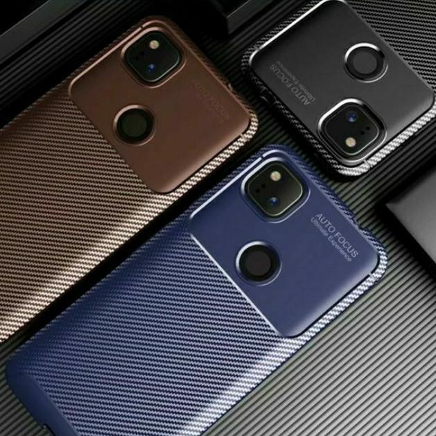甲蟲軟殼 Google Pixel 5 4a 5G 4 3a XL 全包邊碳纖維軟殼 鏡頭保護套防摔手機殼保護殼
