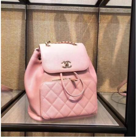 遠方先生Chanel 香奈兒 A93748 Backpack 荔枝紋後背包
