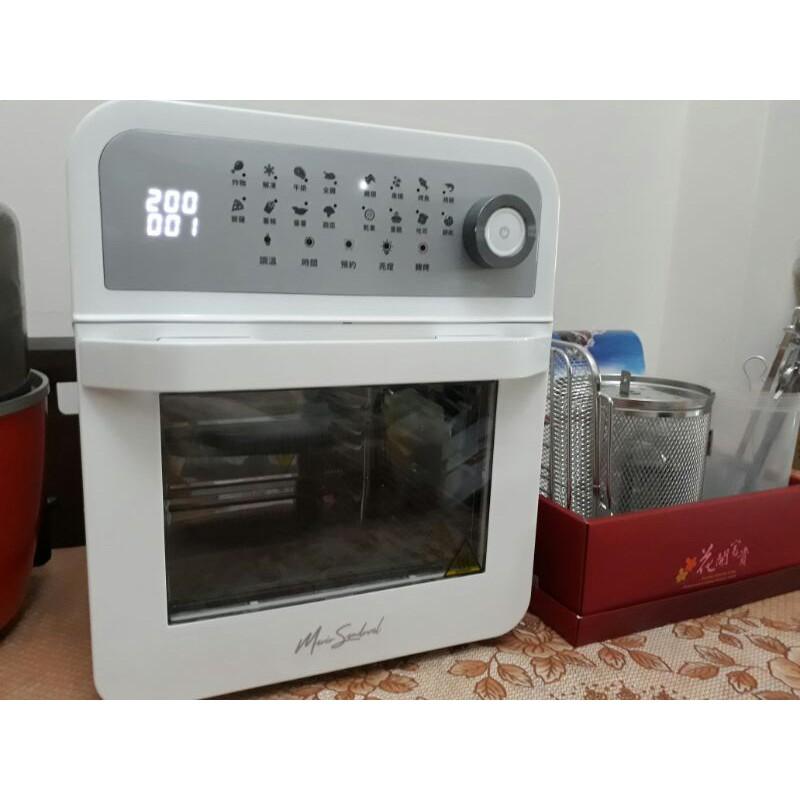 全聯ARCOS 多功能氣炸烤箱9成新