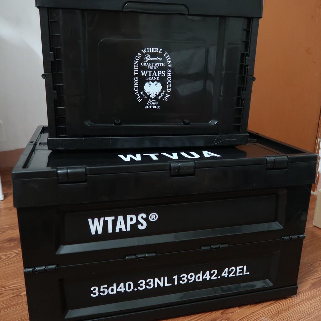 WTAPS 53L 折疊收納箱 日潮軍事風機能儲物盒 衣服鞋子整理箱