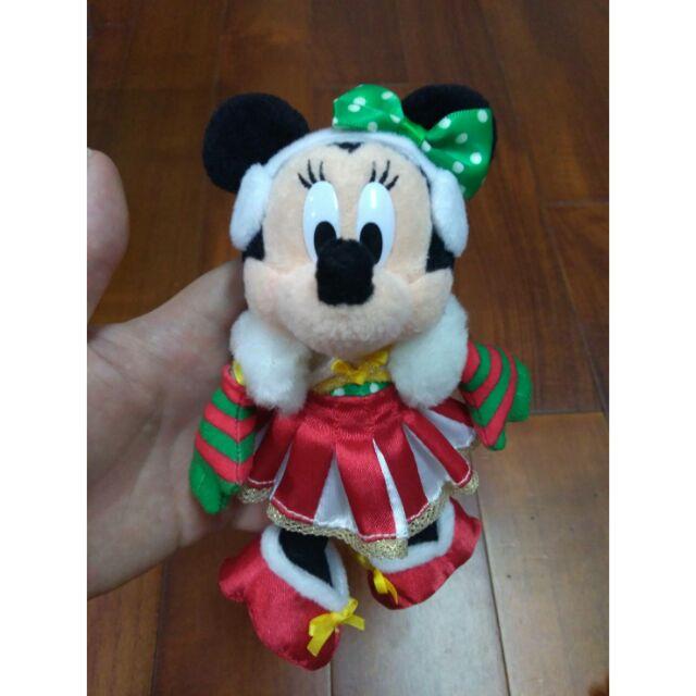 2008迪士尼聖誕吊飾別針米妮