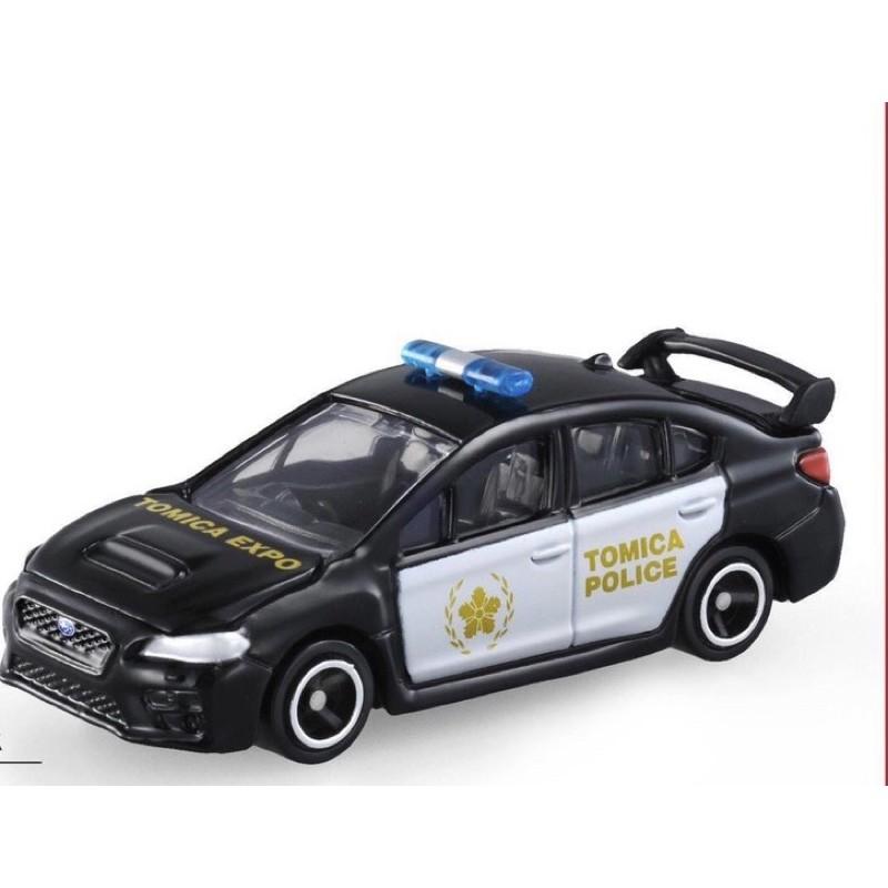 tomica 門票車 Subaru WRX 警車 台灣博