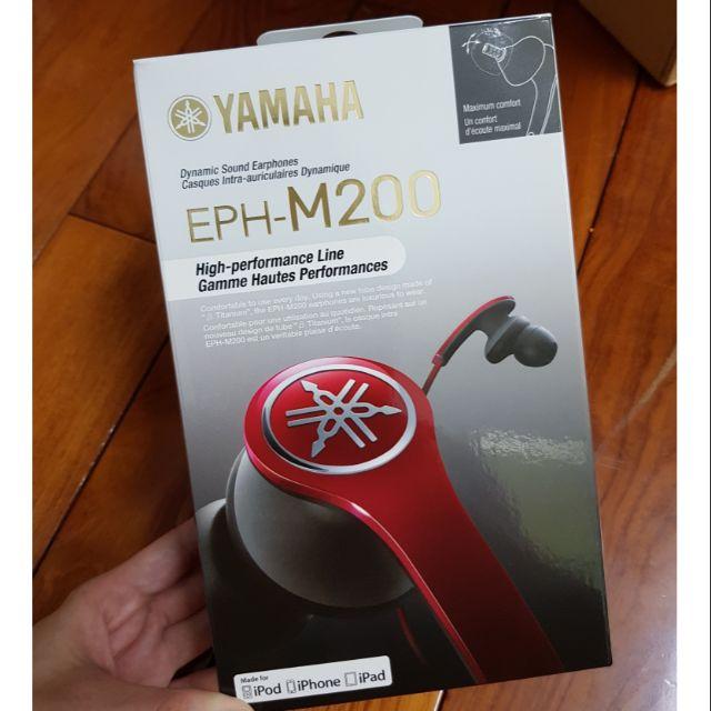 🏅全新 公司貨 Yamaha EPH-M200 耳道式耳機