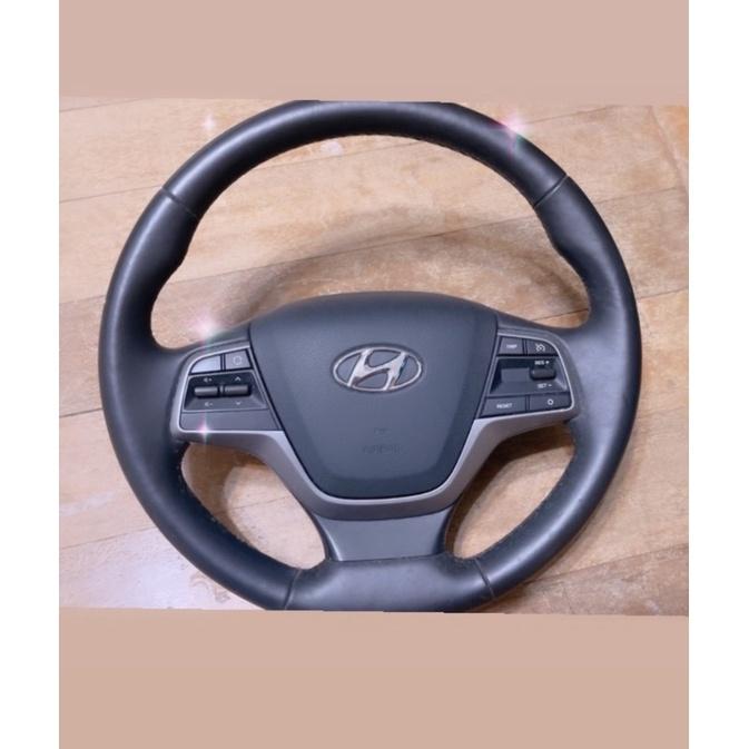 現代 elantra方向盤 #二手 含安全氣囊