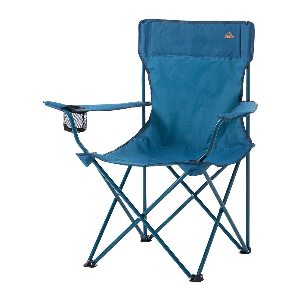 MCKINLEY CAMP CHAIR 200 露營椅-289326-900522-藍 INTERSPORT