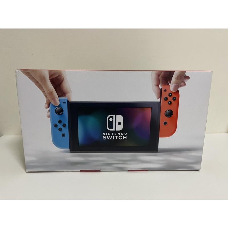 Switch紙盒 主機外盒 藍紅 日版