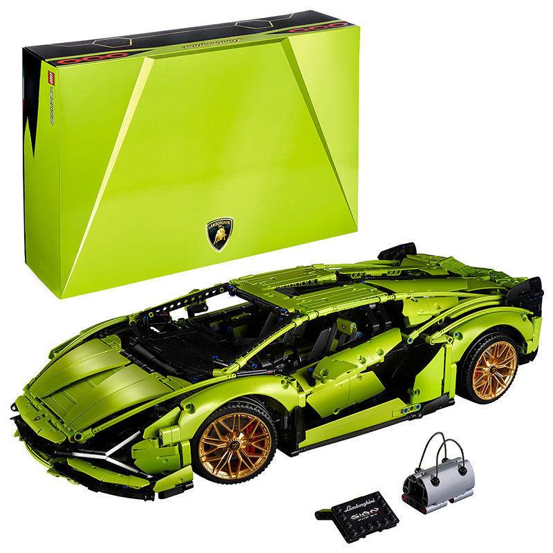 【保稅發貨】LEGO/樂高 機械組系列 蘭博基尼跑車積木玩具 42115