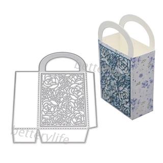 ❀BTF DIY壓花刀模 立體盒子 金屬切割模具 紙卡