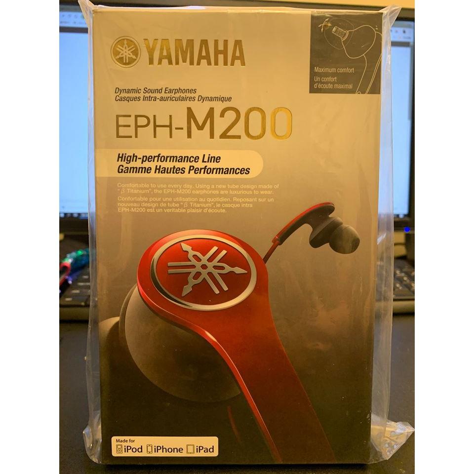 YAMAHA EPH-M200 世界首創 β鈦金屬聲音導管 耳道式線控耳機