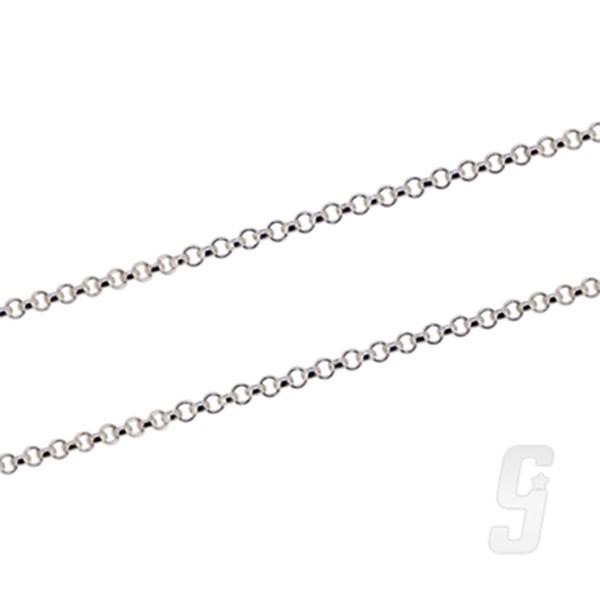 【赤軍寶飾】珍珠鍊-0.2*60 925純銀單鍊