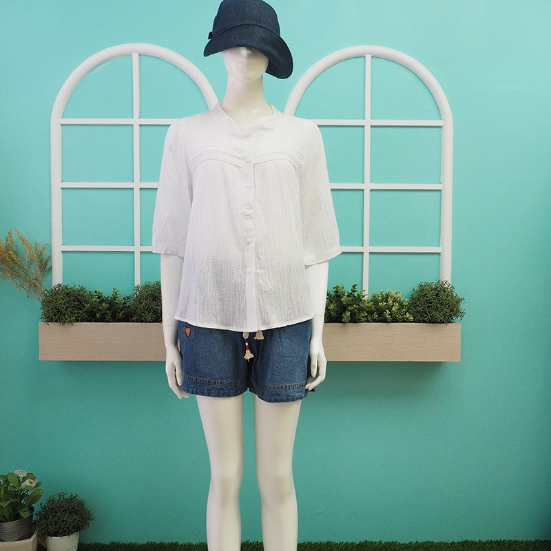 【鳳。衣美】休閒棉質上衣