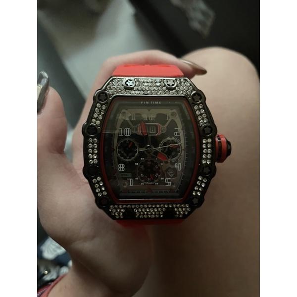 PINTIME/品時石英錶錶爆款酒桶方型手錶