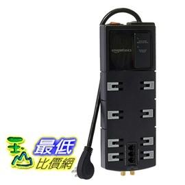 [106美國直購]  AmazonBasics 防護插座 12 Outlet Surge Protector