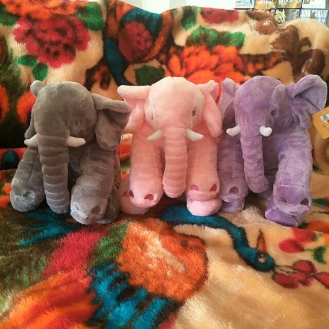 全新現貨 超柔軟 大象 娃娃 baby 嬰兒枕 絨毛 抱枕 靠枕  生日禮物 女朋友 觸感超柔軟 IKEA 好市多 同款