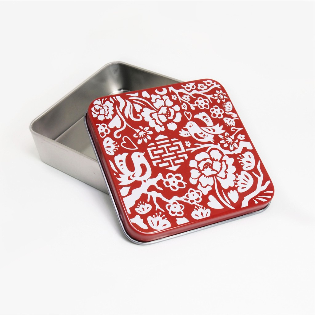 【木子創意】喜鵲小鐵盒