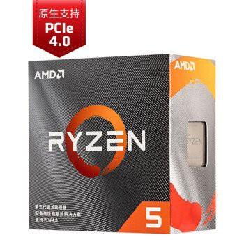 AMD 銳龍 Ryzen3 3100 3600 R5 3400G 3500X R7 3700X CPU散片 盒裝 【時捷