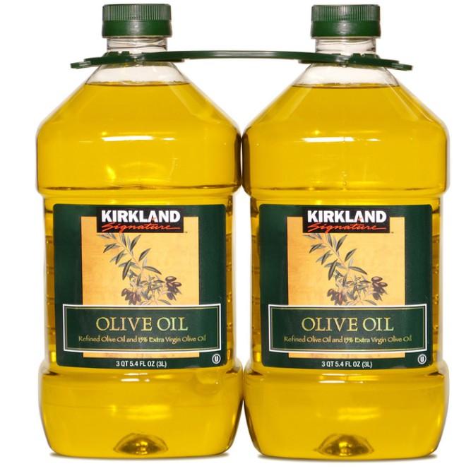 免運 COSTCO線上代購~~科克蘭 純橄欖油 3公升 X 2入/組~~直接由COSTCO出貨