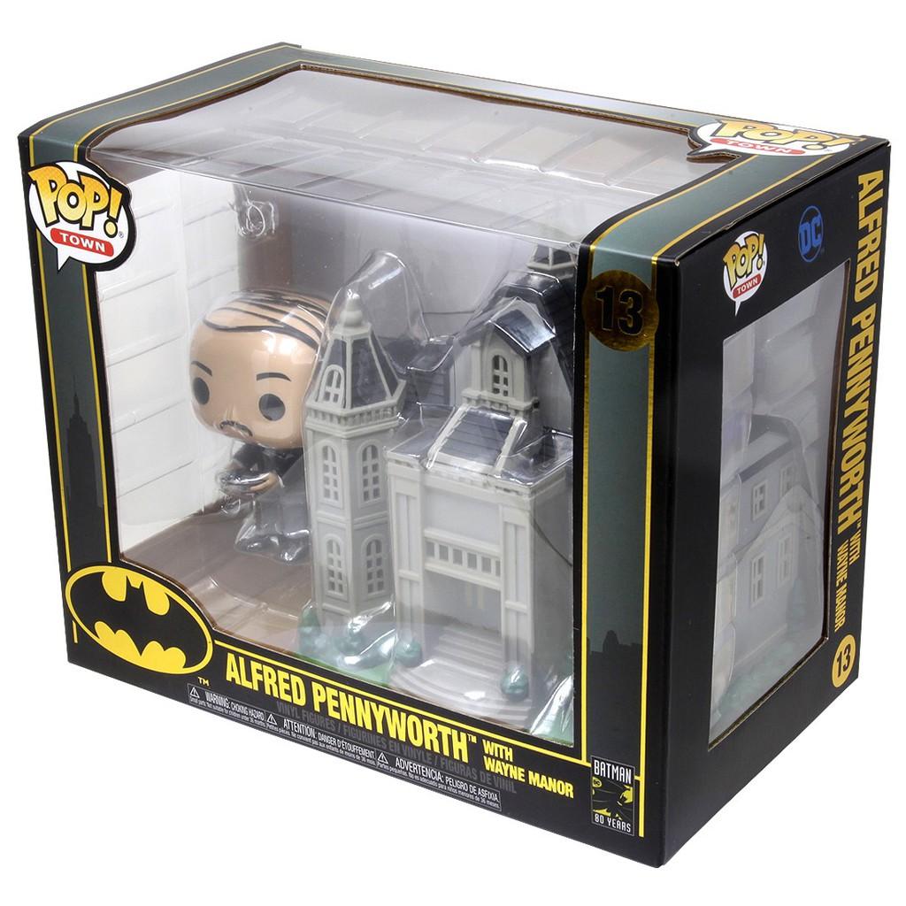 {克拉克玩具} FUNKO POP Batman Alfred 城鎮系列 蝙蝠俠80週年 偉恩莊園 + 阿福