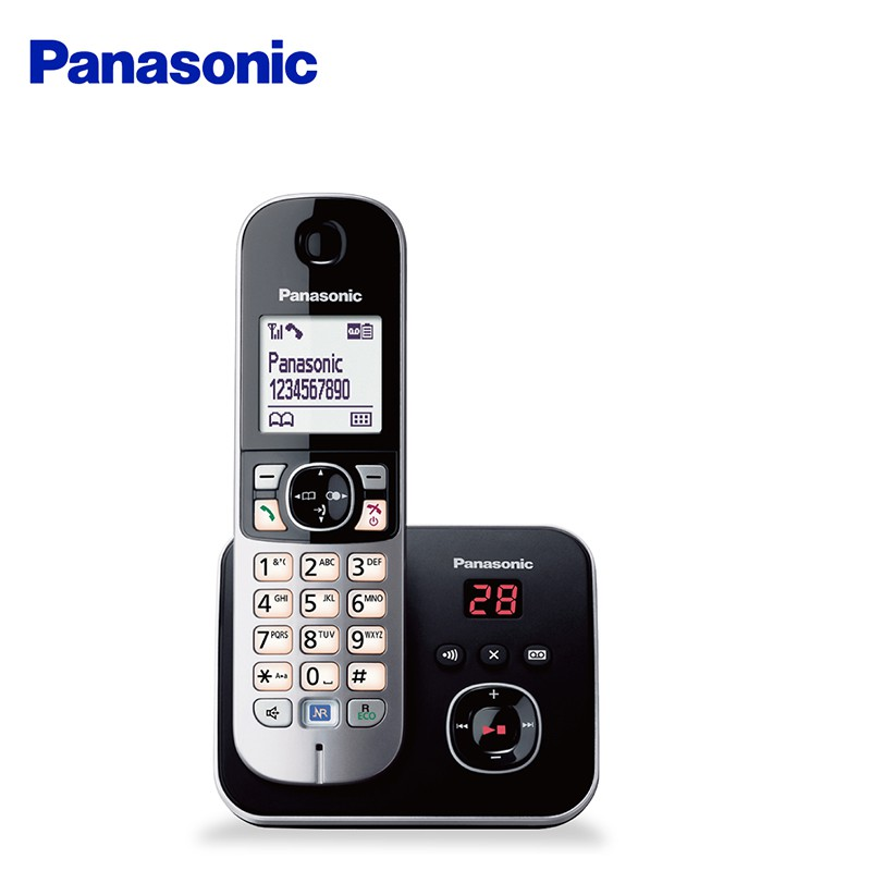 Panasonic 國際牌  中文顯示數位電話機  KX-TG6821