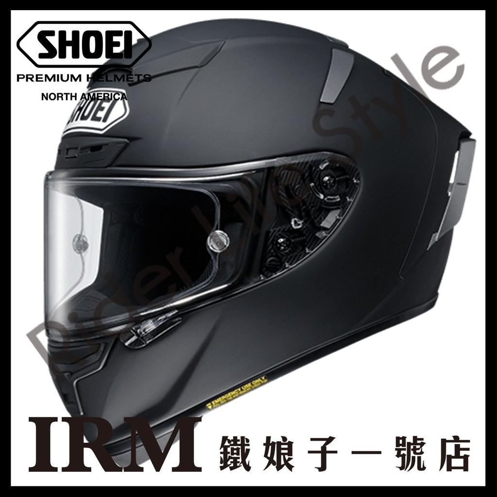 【鐵娘子一號店】日本 SHOEI X-14 全罩 安全帽 限量 X-Spirit X14 賽道。霧黑
