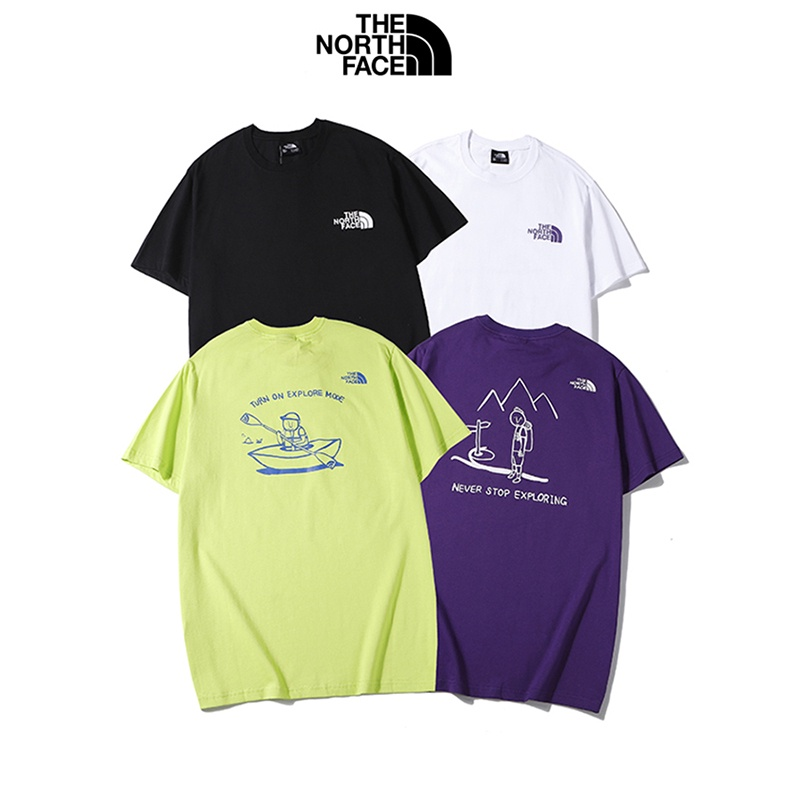 紫標THE NORTH FACE 北面 Tee短袖T恤上衣 純棉T恤 短T 男女同款