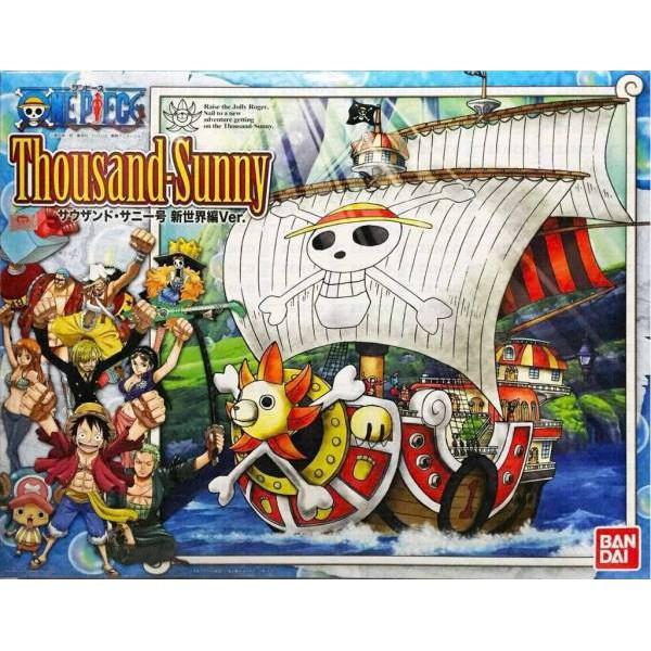 【WS】BANDAI 航海王 海賊王 ONE PIECE 偉大的船艦 草帽海賊團 千陽號 新世界篇版 模型