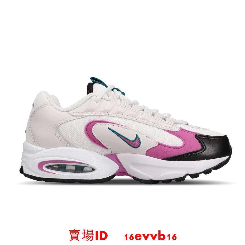 Nike 休閒鞋 Air Max Triax 白 粉紅 女鞋 運動鞋 復古慢跑鞋 CQ4250-102