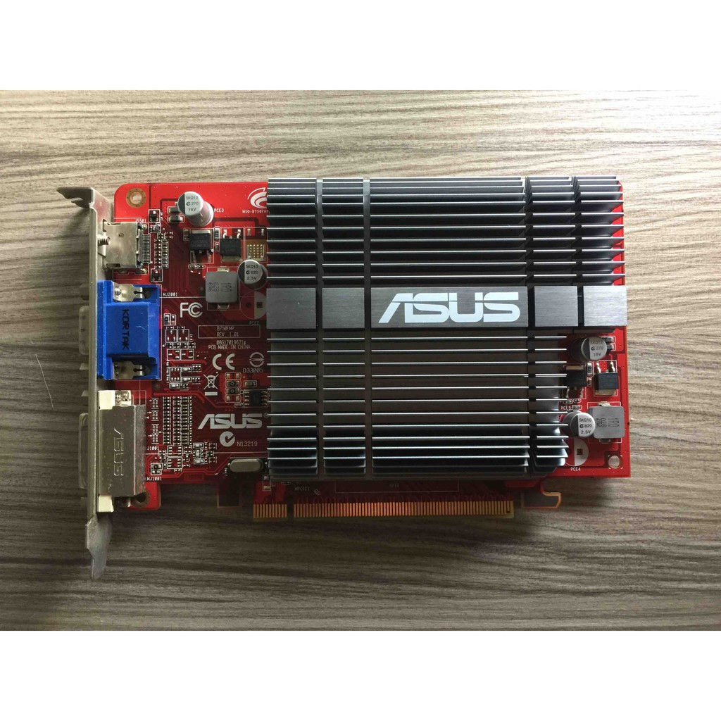 ASUS 顯示卡 EAH4350 SILENT/DI/1GD2/A/DDR2/1GB/64BIT