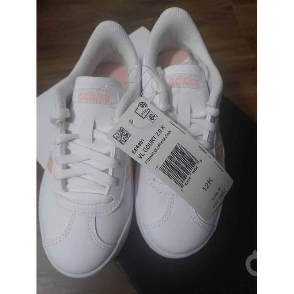 <現貨1雙> 全新正品 美國costco代購 Adidas愛迪達 女生童鞋/運動鞋 鞋號12K