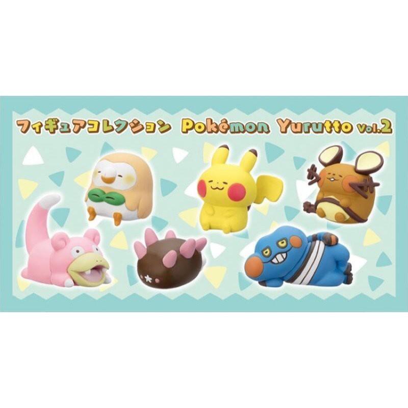 日本 代購 POKEMON CENTER 卡娜赫拉 X 精靈寶可夢 神奇寶貝 第二彈 扭蛋(1套6款,不拆售)