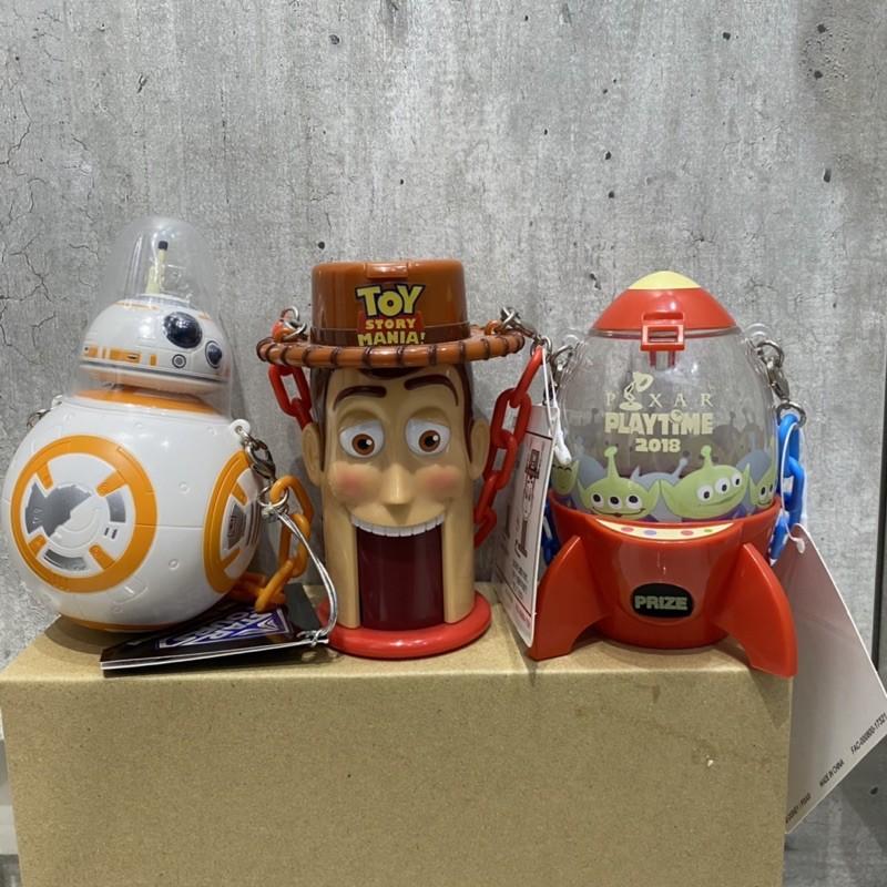 絕版 迪士尼 園區限定 限定品 糖果罐 胡迪 三眼怪 火箭 BB8 玩具總動員 星際大戰 Toy Story 玩具 收藏
