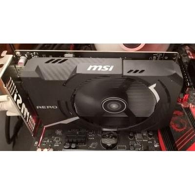 二手良品 MSI 微星GTX 1050 Ti 4G GAMING OC 750ti 1060 1050 r9 380參考