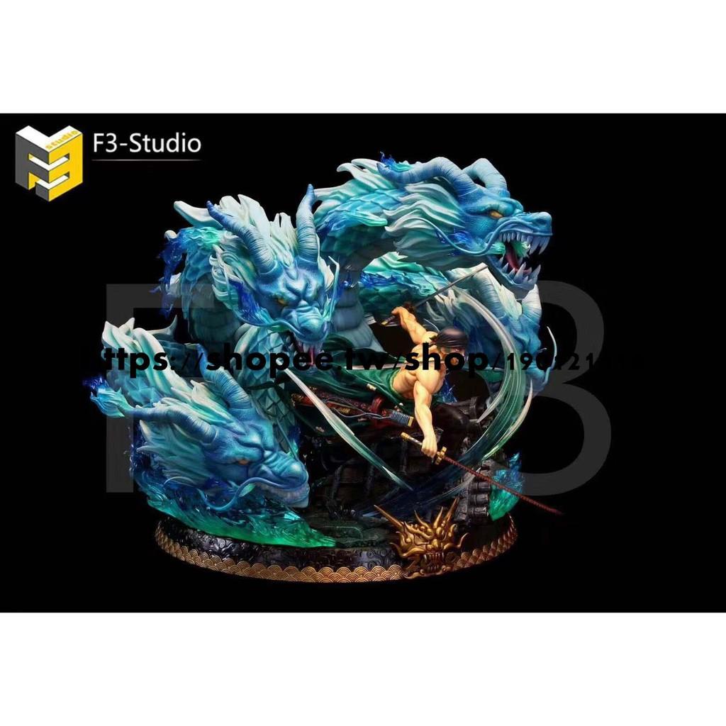 少量現貨--海賊王GK F3-DX-03 雕像系列之索隆 限量手辦雕像