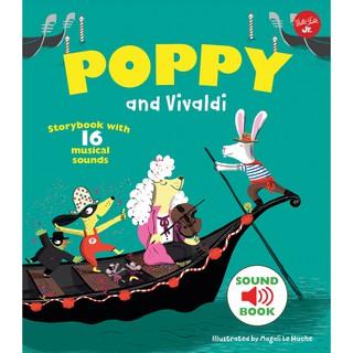 【QED】Poppy and Vivaldi 英文版帕可好愛韋瓦第 PACO 臺北市