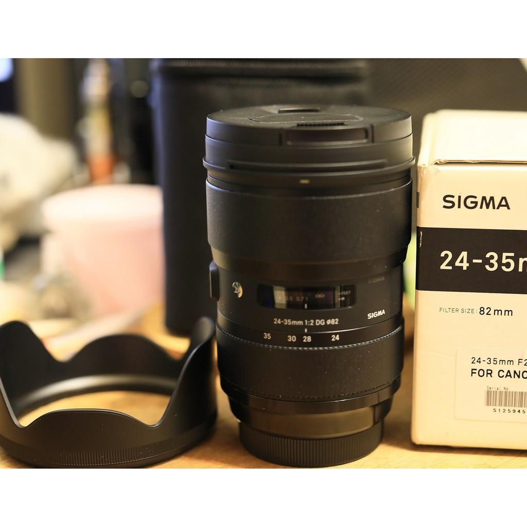 保內 SIGMA 24-35 mm F2.0 DG HSM ART FOR CANON 恆伸 公司貨