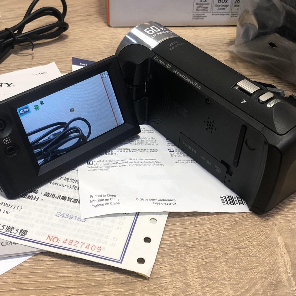 HDR-CX405 Sony 攝影機 近全新 保固內 二手 配件齊全 附上購買證明 8折 索尼 DV  CX405 專業