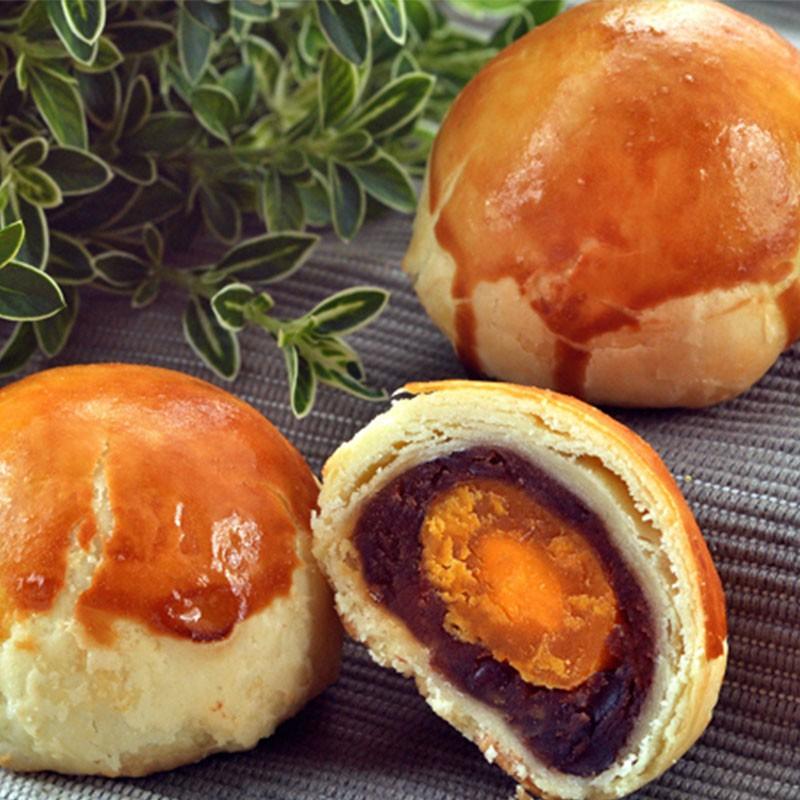 采棠肴鮮餅鋪-紅豆蛋黃酥